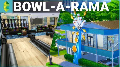 The Sims 4 Building - Bowl-A-Rama