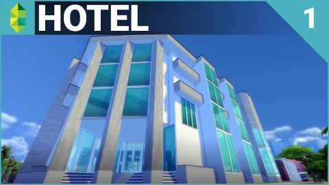 The Sims 4 Building - Hotel (Part 1)