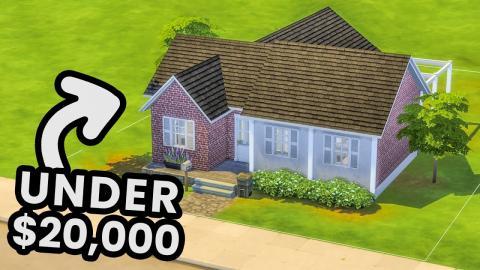 Family Starter Home Under $20,000 (Sims 4)