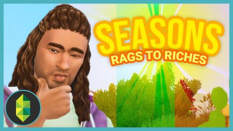 BEES!? - Rags to Riches - Part 1 (Sims 4 Seasons)