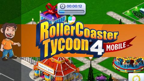Flabaliki Plays: Rollercoaster Tycoon 4! ... Mobile (and it $ucks)