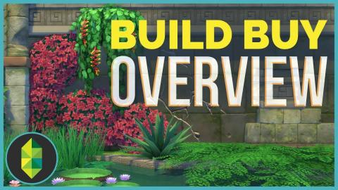 BUILD BUY OVERVIEW | The Sims 4 Jungle Adventure