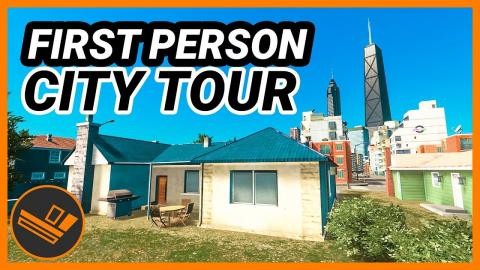 First Person City Tour! Cities: Skylines
