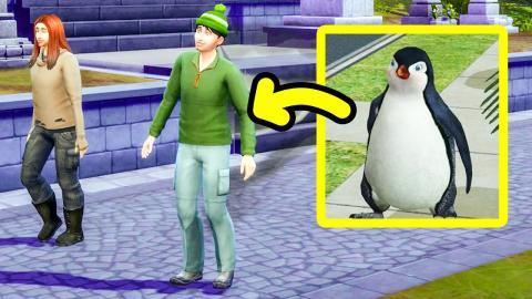 My Sim walks like a Penguin! 🐧 3 Brothers