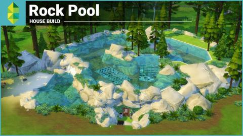 The Sims 4 House Building - Rock Pool