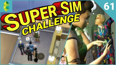 SUPER SIM CHALLENGE | Who is First? (Part 61)