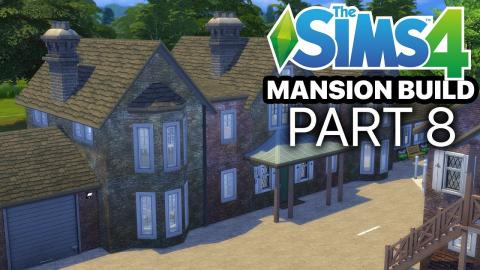 The Sims 4 - MANSION BUILD - Part 8 (Master Suite & Landing)