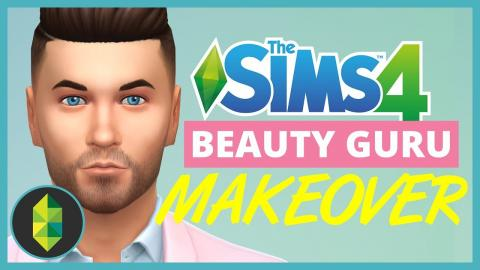 Real Life Beauty Guru Gives a Sim a Makeover!