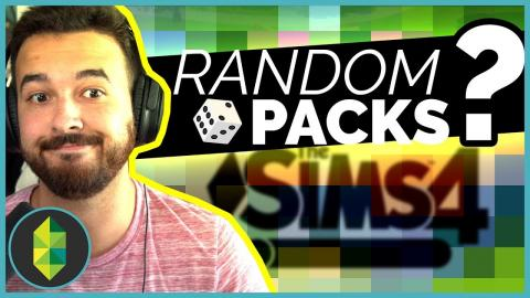 RAИDOM PACKS Build Challenge | The Sims 4
