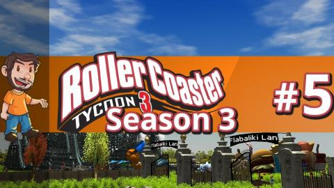 Let's Play Rollercoaster Tycoon 3 - Part 5 Season 3