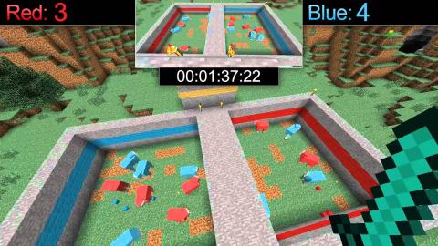 Minecraft: Red vs Blue - Sheep Massacre