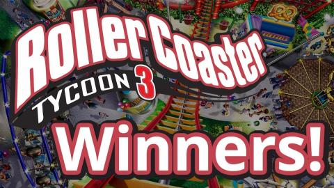 Rollercoaster Tycoon 3 Contest Winners!