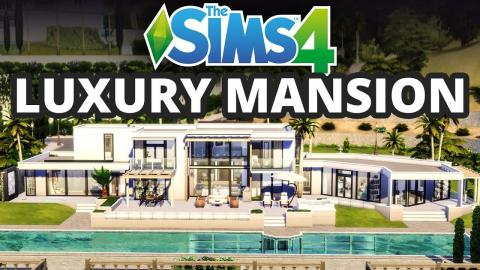 Sims 4 Renovating LUXURY Home!