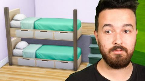We can create functional BUNK BEDS in The Sims 4!