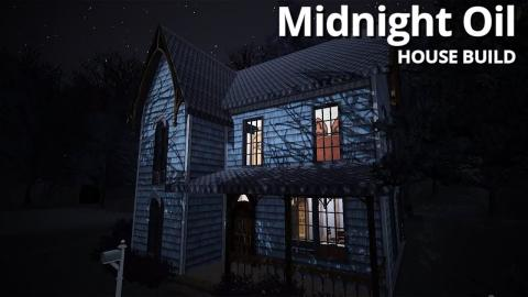 The Sims 3 House Building - Midnight Oil