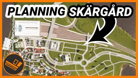 Planning the road layout of the city centre! Skärgård (Part 20)