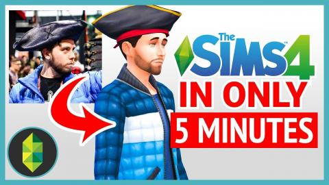 Playing The Sims 4 in 10 Minutes or Less! (Challenge)