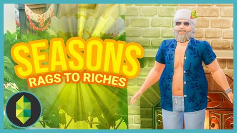 FAMILY CHRISTMAS - Part 17 - Rags to Riches (Sims 4 Seasons)