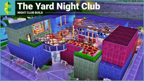 The Sims 4 Club Building - The Yard