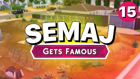 SEMAJ Gets Famous - Part 15 - NEW HOUSE (Let's Play The Sims 4)