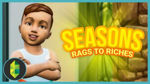TWO TODDLERS!? - Part 11 - Rags to Riches (Sims 4 Seasons)
