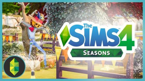 The Sims 4 SEASONS - Part 1 (Gameplay)
