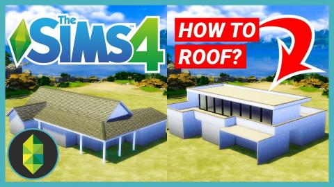 How to Roof in Sims 4 - Tips & Tricks