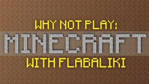 Why Not Play Minecraft - Nostalgia