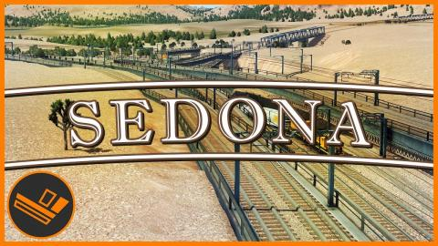 Sedona - Part 58 | TRAIN INTERCHANGE (Cities: Skylines)