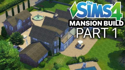 The Sims 4 - MANSION BUILD - Part 1 (Farm & Garden)