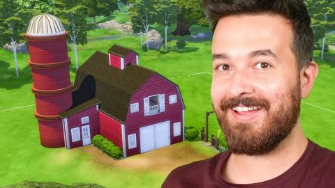 I'm Building an Entire Farm in The Sims 4!