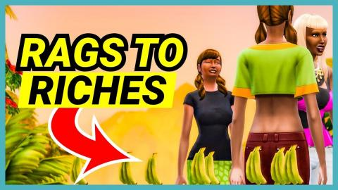 The Banana Farm Begins! - 🌴 Rags to Riches (Part 8)