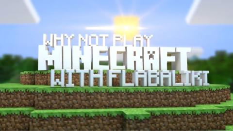 Why Not Play Minecraft - Lava Base