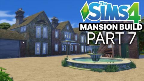 The Sims 4 - MANSION BUILD - Part 7 (Living Room & Master Bedroom)