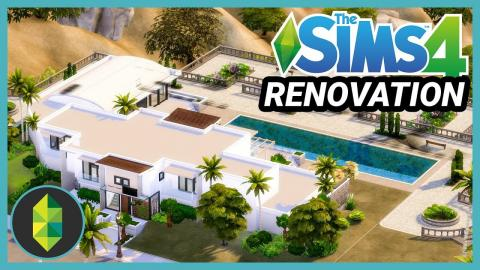 The Sims 4 Mansion Renovation (Sims 4 Build)