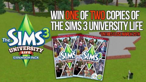 Win The Sims 3 University Life Limited Edition! (Closed)