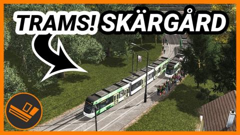 New tram line and bike lanes! Skärgård (Part 13)
