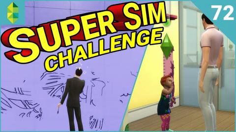 SUPER SIM CHALLENGE | Toddler Skills (Part 72)