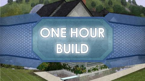 The Sims 3 - One Hour Build with Chrillsims3