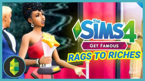 AWARD SHOW - Part 5 - Rags to Riches (Sims 4 Get Famous)