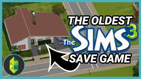What is in the oldest Sims 3 save game I have?