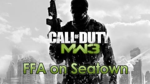 CoD: Modern Warfare 3 - FFA on Seatown (30/15 KD)