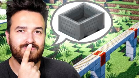 Building a Rail! - Minecraft 1.16 (Part 19)