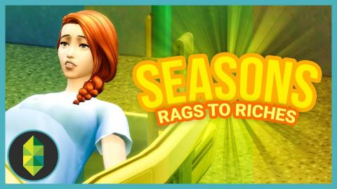 DUE DATE - Part 18 - Rags to Riches (Sims 4 Seasons)