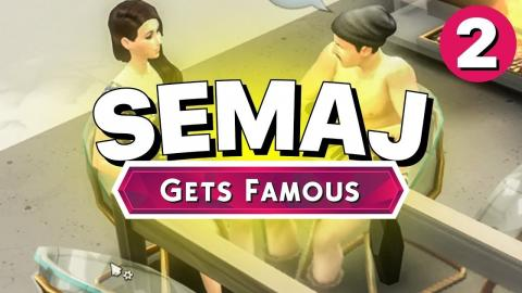 SEMAJ Gets Famous - Part 2 - STEALING FROM DELI (Let's Play The Sims 4)