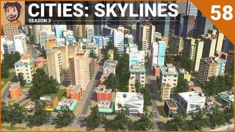 Let's Play Cities: Skylines - Part 58 (Season 3)