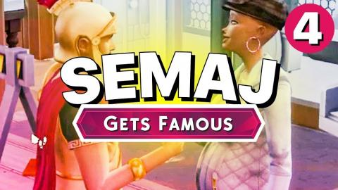 SEMAJ Gets Famous - Part 4 - ALL IS WELL (Let's Play The Sims 4)