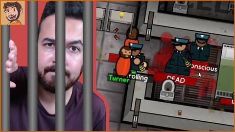 Invisibility Cloak!? | Prison Architect ESCAPE (Prison 8)