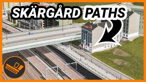 Quays with Paths! Skärgård (Part 27)
