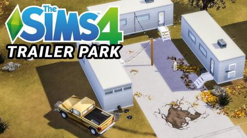 Building a Trailer Park in Sims 4